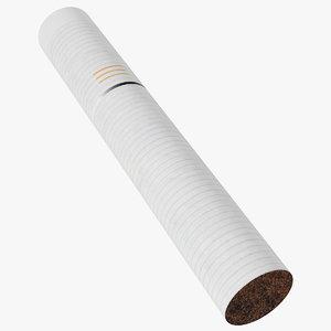 3D iqos tobacco stick