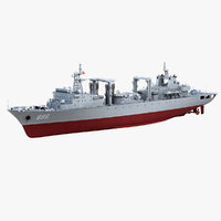 chinese navy type 903 3D model