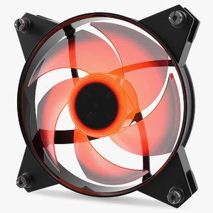 120mm case rgb fan 3D model