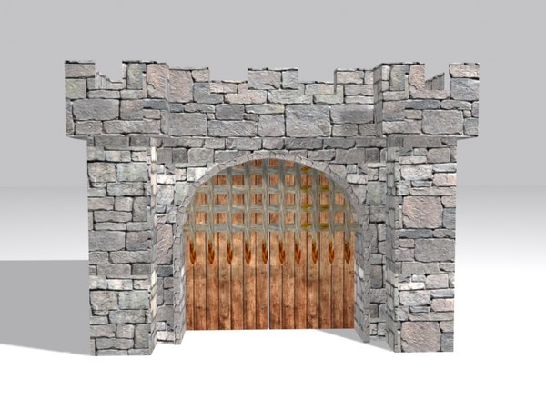 fort gate 3D model
