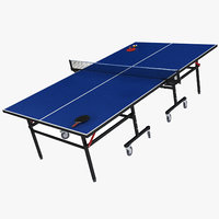 3D model ping pong table