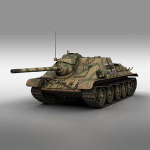 jagdpanzer su-85 - 23 model