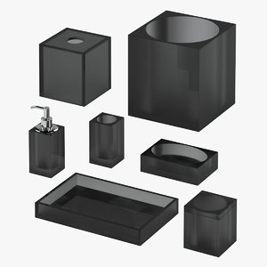 3D bath accessories 02