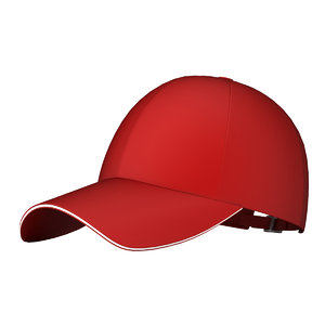 baseball cap ball 3D model
