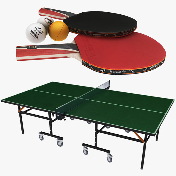 ping pong table paddles model