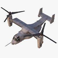 Rigged CV-22 Osprey