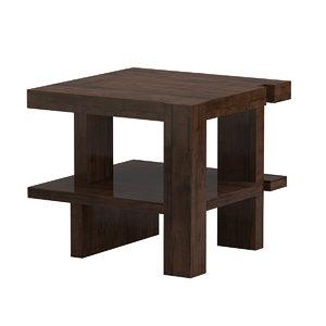 bddw table 3D model