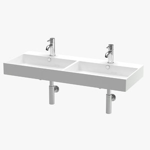 bathroom sink 01 3D
