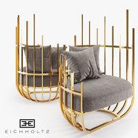 3D model eichholtz santorini