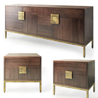Jade. Sideboard, nightstand by Sunpan Furniture