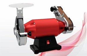 3D bench grinder motor model