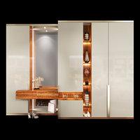 wardrobe hallway composition set model