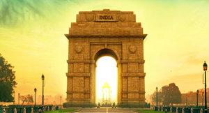 3D india gate