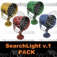 searchlight v 1 pack 3D model