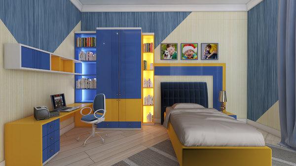 childroom xalqlar 3D model