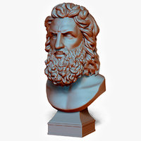 Bust of God Zeus