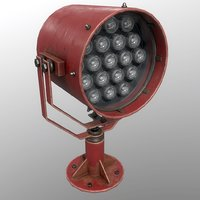 3D searchlight v 1 red
