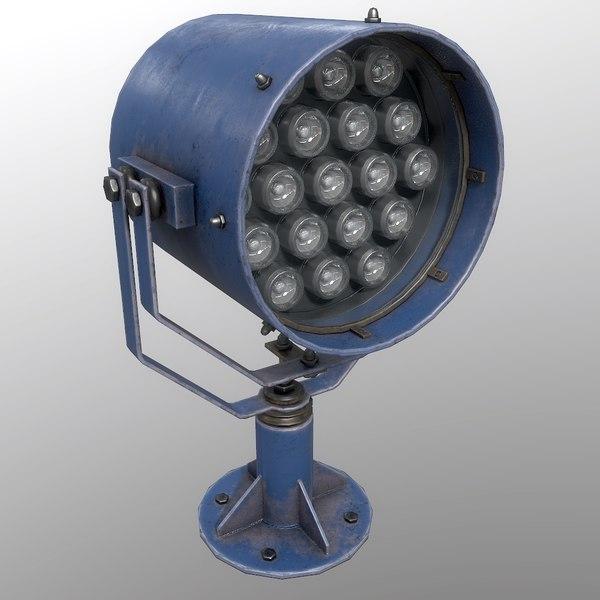 searchlight v 1 blue 3D
