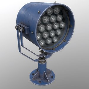 searchlight v 1 blue 3D