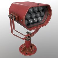 searchlight v 2 red 3D