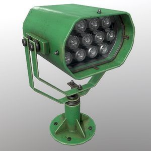 3D searchlight v 2 green