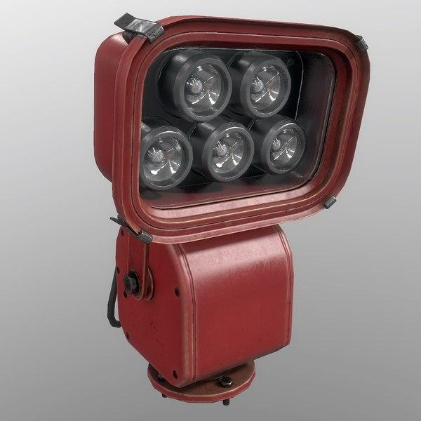floodlight red model