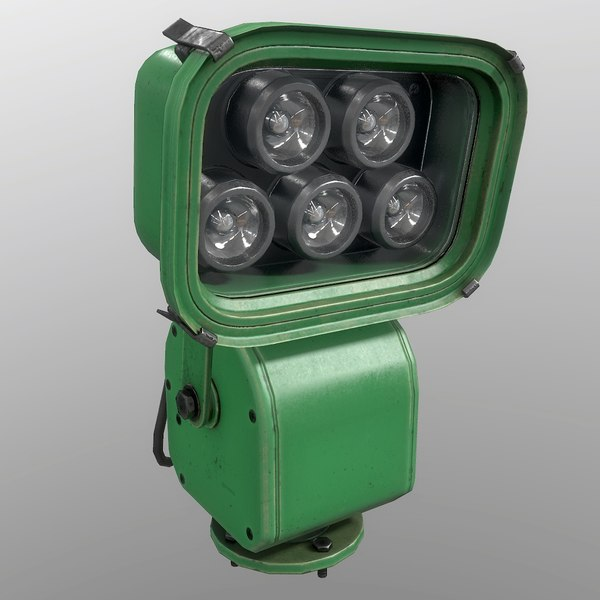 floodlight green 3D model