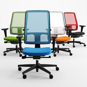 3D chair office