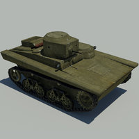 3D light swimming tank t-37a
