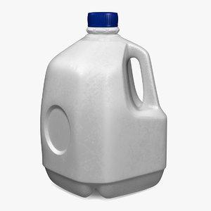 gallon plastic bottle 3D model