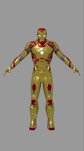3D mark 42 modeled model