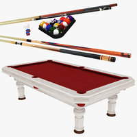 table cues 3D model