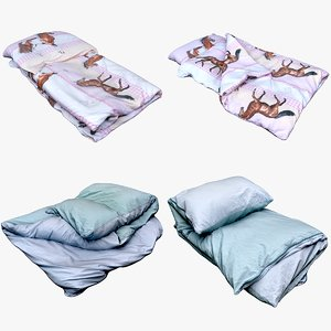 bedclothes bedding 3D