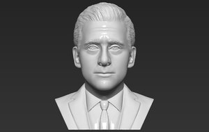 3D model michael scott office bust