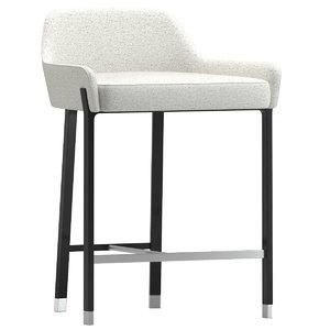 blink counter stool sh610 3D