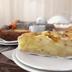 3D set cakes model