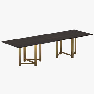 3D model bruno mathsson dining table