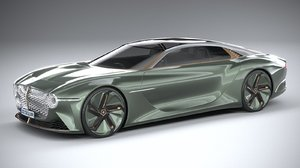 3D bentley exp 100 model