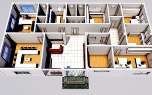 firm floor 3D