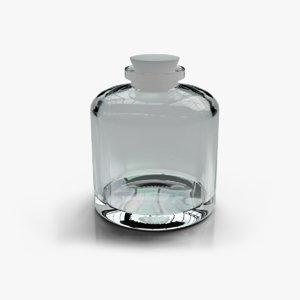 3D model medical flask 2