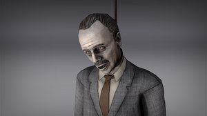 character horror animations 3D model