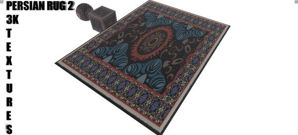 3D 3k persian rug model