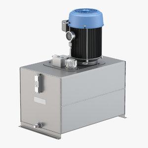 haldex ac hydraulic 3D