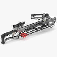 crossbow bow 3D model