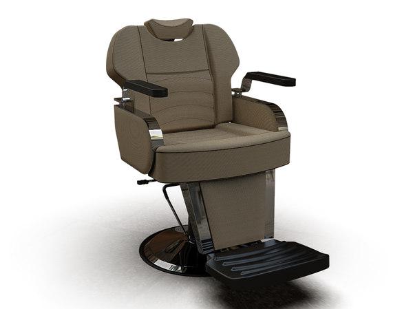 3D man barber chair 6601-2