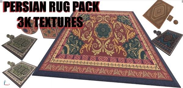 3k persian rug 3D model
