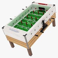 foosball table ball 3D model