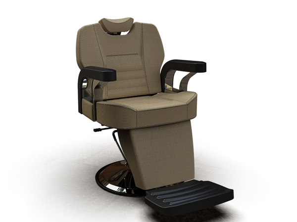 3D man barber chair 6602-2