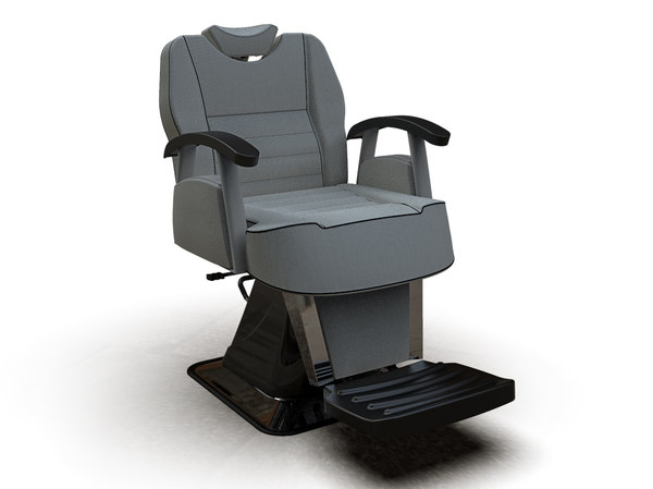 3D man barber chair 6603-1
