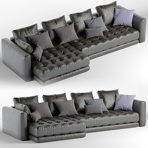 3D model armchair divano